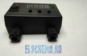 Тестер емкости литиевых аккумуляторов